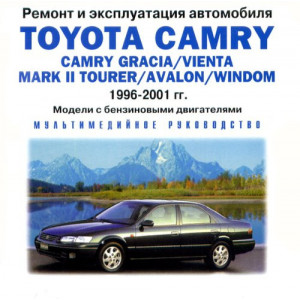 CD Toyota Camry / Camry Gracia / Vienta / Mark II Tourer / Avalon / Windom